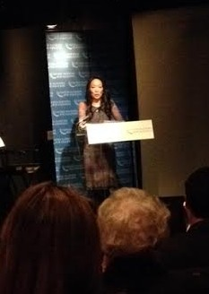 Jessica Yu, Director Misconception, speaking at the UN Foundation event. Photo Credit: Liz Fortier